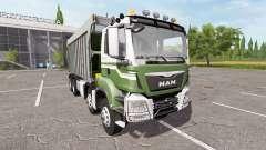 MAN TGS dumper 8x8 para Farming Simulator 2017