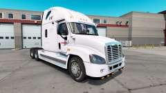 La piel de Estafeta para el tractor Freightliner Cascadia para American Truck Simulator