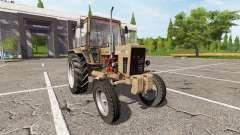 MTZ-80, Bielorrusia v1.1 para Farming Simulator 2017