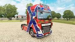 La piel de la Nueva Rusia en el tractora DAF para Euro Truck Simulator 2