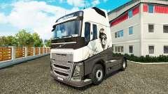 Cool piel de León para camiones Volvo para Euro Truck Simulator 2