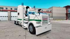 La piel de Krispy Kreme para el camión Peterbilt 389 para American Truck Simulator