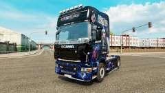 La piel de AC-DC-para camiones Scania para Euro Truck Simulator 2