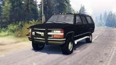 Chevrolet Suburban GMT400 para Spin Tires