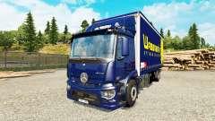 Mercedes-Benz Antos tandem para Euro Truck Simulator 2