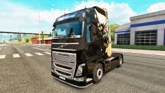 Luz agonizante de la piel para camiones Volvo para Euro Truck Simulator 2