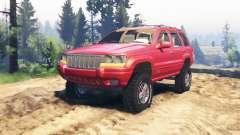 Jeep Grand Cherokee (WJ) v2.0 para Spin Tires