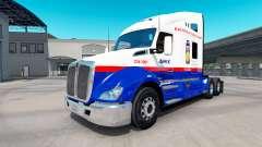 La piel Jumex en el tractor Kenworth T680 para American Truck Simulator