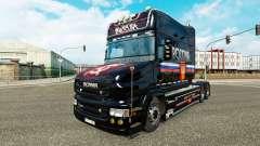 Rusia de la piel para Scania camión T para Euro Truck Simulator 2