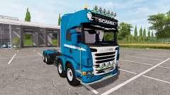 Scania R730 8x8 para Farming Simulator 2017