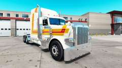 Faro de la piel para el camión Peterbilt 389 para American Truck Simulator