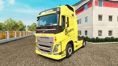 Bundaberg de la piel para camiones Volvo para Euro Truck Simulator 2