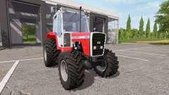 Massey Ferguson 698T v1.1 para Farming Simulator 2017