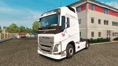 VV Trans de la piel para camiones Volvo para Euro Truck Simulator 2