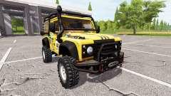 Land Rover Defender 90 Dakar para Farming Simulator 2017