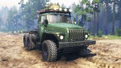 Ural-4320 tractor v2.0 para Spin Tires