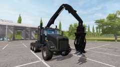 Kenworth T800 self loader para Farming Simulator 2017