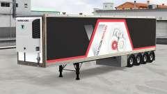 Refrigerado semi-remolque v2.0 para American Truck Simulator
