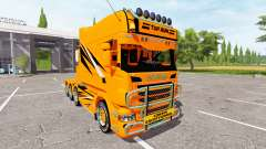 Scania R730 long toprun para Farming Simulator 2017