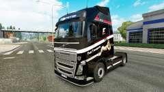 Rápido Transporte de la piel para camiones Volvo para Euro Truck Simulator 2