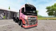 Volvo FH 750 tow truck para Farming Simulator 2017