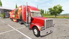 Lizard TX 415 Barrelcore Coca-Cola para Farming Simulator 2017