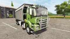 MAN TGS dumper 8x8 v2.0 para Farming Simulator 2017