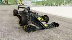 El coche de fórmula 1 v1.1 para BeamNG Drive