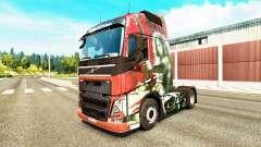 La piel de la Cuchilla para camiones Volvo para Euro Truck Simulator 2