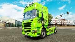 La piel de Hip-Hop en el tractor Scania para Euro Truck Simulator 2