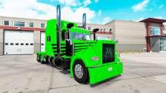 La piel Verde de la Envidia Expreso para el camión Peterbilt 389 para American Truck Simulator