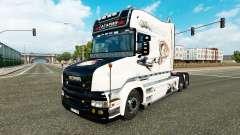 Gagarin de la piel para camión Scania T para Euro Truck Simulator 2