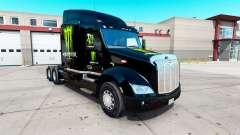 Monster Energy de la piel para el camión Peterbilt 579 para American Truck Simulator