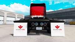 Una colección de los guardabarros para American Truck Simulator