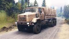 Kraz-63221 para Spin Tires