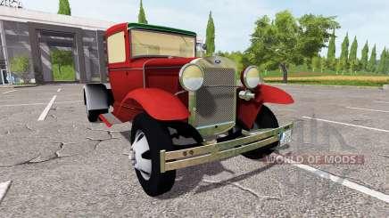 Ford Model AA para Farming Simulator 2017