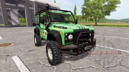 Land Rover Defender 90 Dakar v2.0 para Farming Simulator 2017