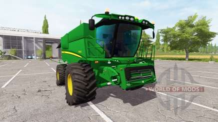 John Deere S690i v2.0 para Farming Simulator 2017