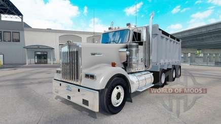 Kenworth W900 dump para American Truck Simulator