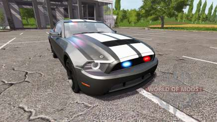 Ford Mustang GT Road Rage Police para Farming Simulator 2017
