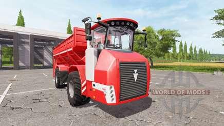 HOLMER Terra Variant 600 eco [pack] para Farming Simulator 2017