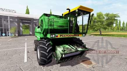 Rostselmash no-1500B para Farming Simulator 2017