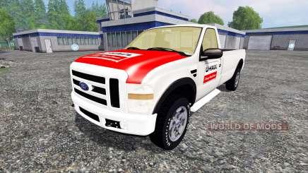 Ford F-250 single cab U-Haul para Farming Simulator 2015