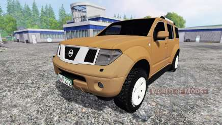 Nissan Pathfinder (R51) para Farming Simulator 2015