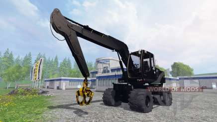 Liebherr A900C black edition para Farming Simulator 2015