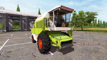 CLAAS Dominator 88S v1.0.0.1 para Farming Simulator 2017