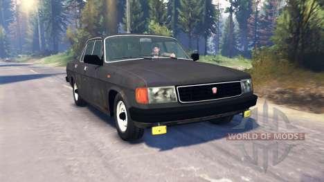 GAZ 31029 Volga v2.0 para Spin Tires