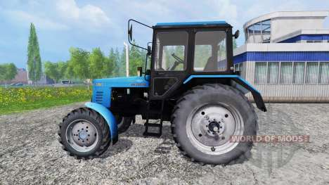 MTZ-82.1 Belarús v2.0 para Farming Simulator 2015