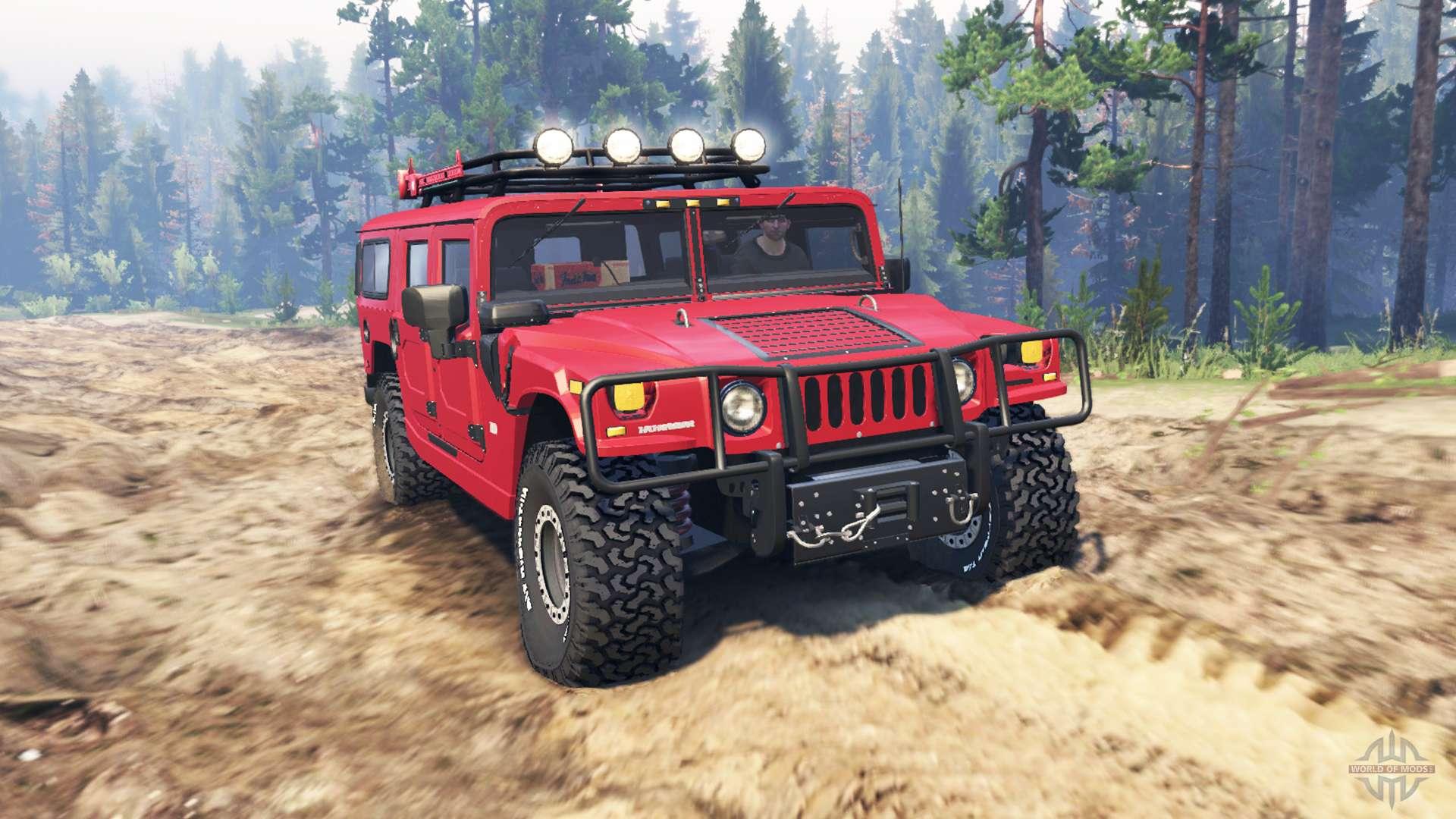 Hummer H1 V3 0 Para Spin Tires