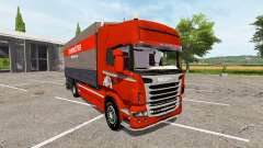 Scania R730 side tarpaulin